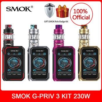 цена на [kit gift] In stock! SMOK G-Priv 3 Kit 230W & TFV16 Lite Tank 5ml Dual Mesh Conical Mesh Coil Vaporizer E-Cig VS x-priv Mag P3
