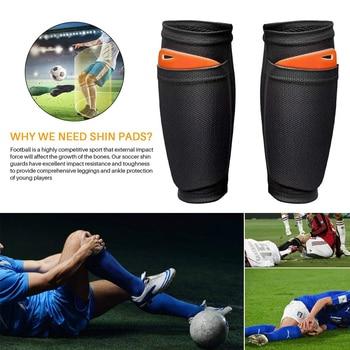 Worthside – protège-tibia pour adolescents, 1 paire de coussinets de chaussettes de Football, boucliers professionnels, jambières, manches, équipement de protection 2