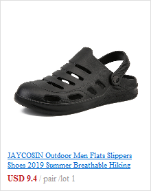 JAYCOSIN Summer Slippers Flip Flops For Men Hollow Breathable Men Slippers Big Size Solid Casual Slip-On Beach Walk Shoes