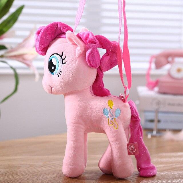 Фото hasbro мой маленький пони плюшевая кукла рюкзак игрушки принцесса цена