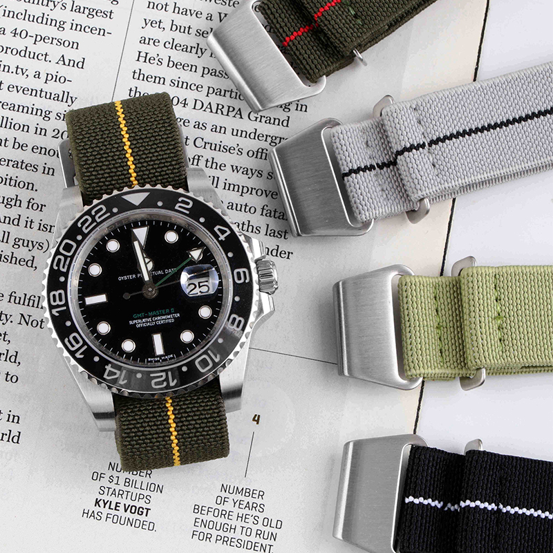 Nato G10 Sports Man Style General Watchband Nylon For Black Bay For IWC Hamilton 20mm 21mm 22mm Army Fashion Tools