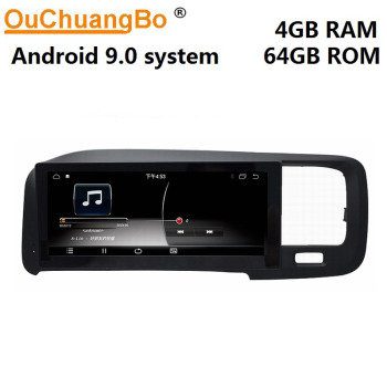 Ouchuangbo PX6 android 9.0 radio gps recorder multimedia player for 8.8 inch Volvo V60 S60 2011-2017 head unit 4GB+64GB