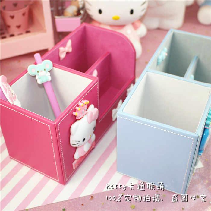 New Pink Colour Lovely Hello Kitty Multifunctional Storage Box Napkin Carton