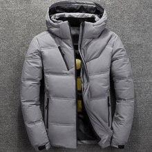 Fashion 2019 Winter Jacket Mens White Duck Down Jac