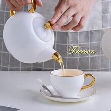 Элегантный чайный сервиз из фарфора Ароматизированная чайная