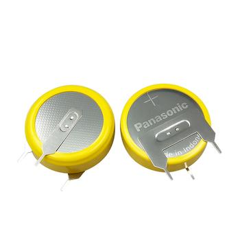 MasterFire 2 sztuk partia Panasonic CR2477 3V wysokiej wydajności odporny na wysokie temperatury przycisk monety baterii komórki z kołków lutowniczych tanie i dobre opinie 1000mah 24 0 x 7 7MM Li-ion