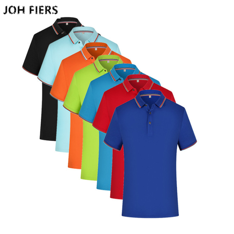 Summer Men Shirt Men   Polo   Shirt Men Short Sleeve Solid Color   Polos   Shirt Casual Classic Business Brand Poloshirt Plus Size 3XL