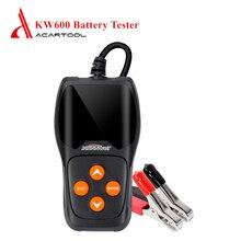 KW600 тест батареи er цифровой 12 в 100 до 2000 cca автомобильный тест батареи er анализатор быстрый тест на проворот коленвала Авто Ремонт диагностический инструмент
