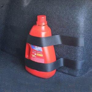 Image 4 - 4 pçs/set Saco De Armazenamento Organizador Mala Do Carro Extintor de Incêndio Montagem Cintas Fitas de Fixação Suporte Adesivos Tiras Bandagem