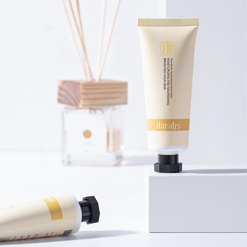 Daralis Shea Butter Hydrating Hand Cream Anti Aging Moisturizing Hand Lotion Anti-crack Whitening Nourishing Hands Care 30g