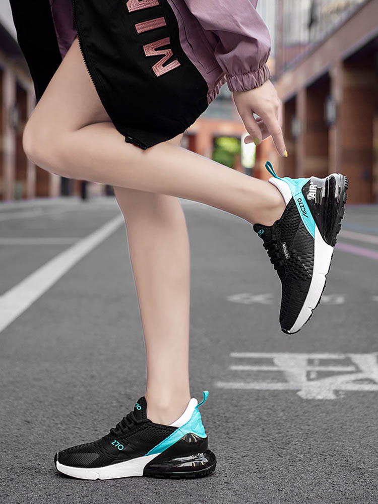 Women Sneakers Baskets Casual-Shoes White Platform Ladies Trainers Black Dames Femme