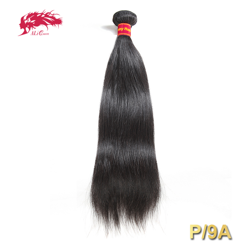 Brazilian Straight Hair Weave Pro. Ratio / 9A 1/3/4 Pcs Natural Black Remy Hair Free Shipping Ali Queen 100% Human Hair Bundles