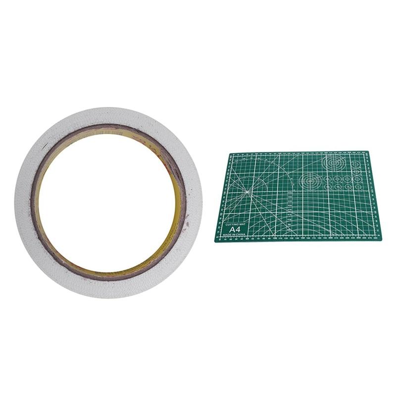 1 Pcs Adhesive Tape & 1 Pcs PVC Cutting Mat A4