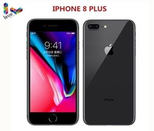 Разблокированный сотовый телефон Apple iphone 8 Plus, 4G LTE, 5,5 дюйма, шестиядерный, 3 Гб ОЗУ, 64 ГБ/256 Гб ПЗУ, 12 МП, оригинальный мобильный телефон с iOS и ск...
