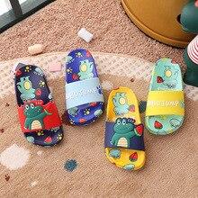 Cartoon Crocodile Baby Slippers Children  Flip Flop Toddler Little Kid Boys Girls Beach/Pool Summer Slides Sandals Water Shoes