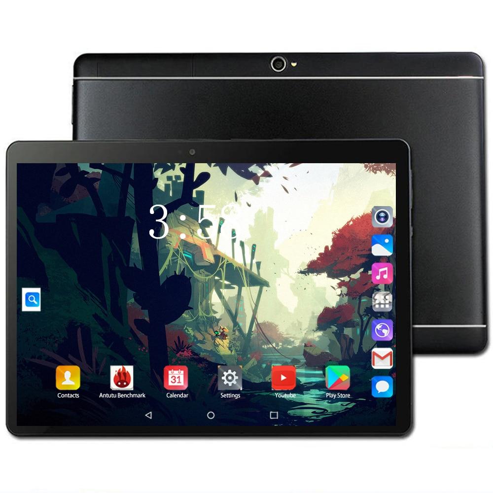 Original Genuine 10 Inch 3G/4G LTE Tablet Pc Octa Core Android 8.0 OS RAM 6GB ROM 128GB Dual SIM Card WIFI GPS Smart Tablets10.1
