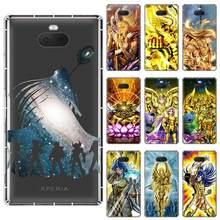 Saint Seiya soft TPU Case For Sony Xperia X XA XA1 XA2 XA3 XZ XZ1 XZ2 XZ3 XZ4 L1 L2 L3 Plus Compeact