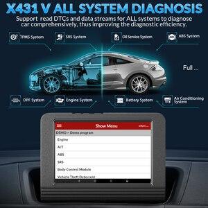 Image 2 - Launch X431 V Wifi/Bluetooth volledig systeem Diagnostisch hulpmiddel x 431 v Pro mini ECU codering OBD2 scanner update online 2 jaar gratis