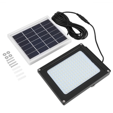 Solar Powered 150 LED Light Light-control & Motion Sensor Outdoor Garden Stairs Security Lamp