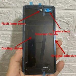 Image 2 - עבור Huawei Honor 10 זכוכית אחורי שיכון עבור Huawei Honor 10 סוללה חזרה כיסוי אחורי זכוכית החלפת מקרה תיקון חלקים