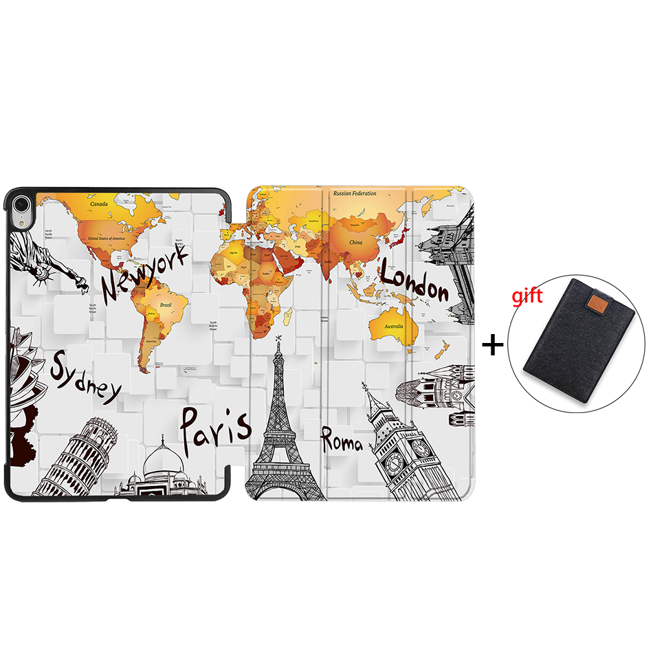 IPAD06 Black Sanmubaba 2020 Cover Case For iPad Pro Air 10 9 inch 4th Generation Slim PU Leather