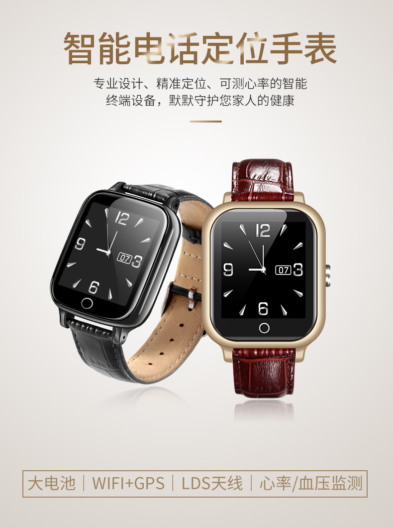 Elderly Smart Bracelet Watch Men Women GPS Wifi ECG Heart Rate Alarm Clock Pedometer Blood Pressure Phone Call Smartwatch (14)