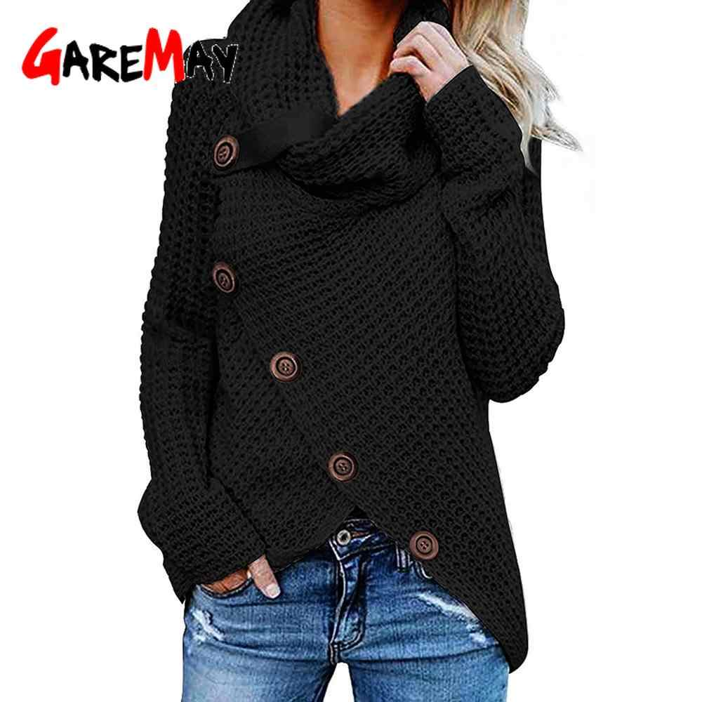 터틀넥 여성 겨울 스웨터 플러스 사이즈 5xl 가을 겨울 따뜻한 불규칙한 풀오버 니트 여성 두꺼운 비대칭 스웨터 여성