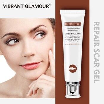 VIBRANT GLAMOUR-crema reparadora para cicatrices, Corrector de pigmentación facial o corporal, cirugía...