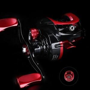 Image 5 - TSURINOYA 2 Spool Ultralight Baitcasting Fishing Reel XF 50 Weight Long Casting TROUT Reel Smooth Casting Reel