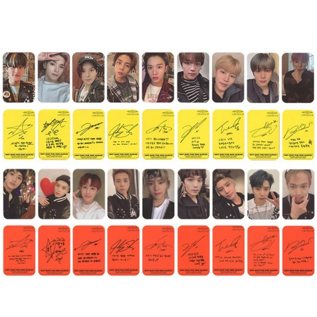 9PCS/Set Kpop NCT 127 Neo Zone New Album Photocard  1