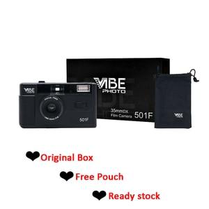 Image 2 - Vibe בציר רטרו 501F 35mm לשימוש חוזר שאינו חד פעמי סרט מצלמה שחור/אדום/שמפניה כסף/ורוד עם קודאק UltraMax 400 סרט