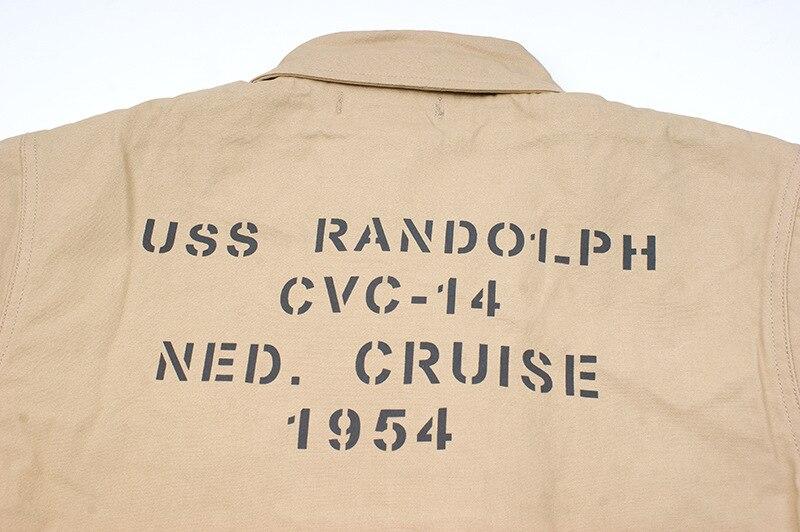 Novo A-2 deck casaco da marinha dos