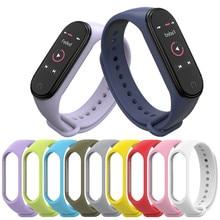 Bracelet for Xiaomi Mi Band 3 4 Sport Strap watch Silicone wrist strap For xiaomi mi band bracelet Miband