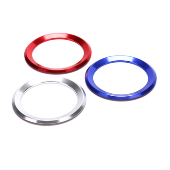 ESPEEDER Car Styling Decoration Ring Steering Wheel Trim Circle Sticker For BMW M3 M5 E36 E46 E60 E90 E92 X1 F48 X3 X5 X6 image