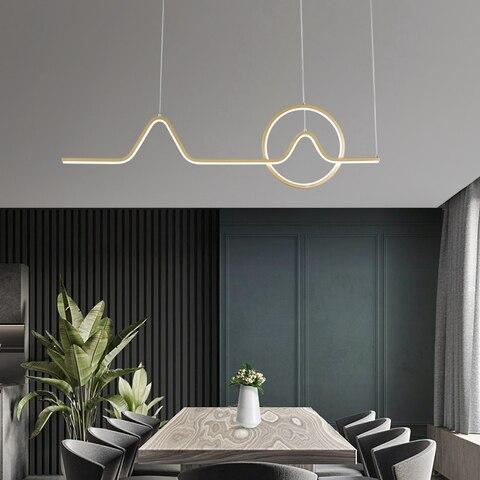 luzes pingente led barra cozinha sala de
