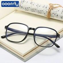 Lunettes de myopie seemfly-0.5 -1.0 -1.5 -2.0 -2.5 -3.0 -3.5 -4.0 -4.5 -5.0 -5.5 -6.0 lunettes Anti-rayons bleus hommes lunettes d'ordinateur