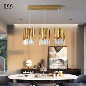 Image 4 - Modern lüks altın kristal küçük yuvarlak avize aydınlatma Led yemek odası yatak odası armatürleri mutfak adası