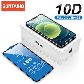 Suntaiho 10D szkło ochronne dla iPhone 12 Pro max 7 8 plus szklana osłona ekranu dla iPhone 11 Pro XR XS X ochrona ekranu tanie i dobre opinie Jasne TEMPERED GLASS CN (pochodzenie) Przedni Film Apple iphone Iphone 6 Iphone 6 plus IPHONE 7 IPHONE 7 PLUS IPHONE 8 PLUS