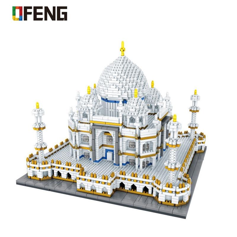 Big Sale #c28c World Architecture Mini Block Landmarks Taj