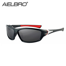 цена на Sunglasses Classic High Quality PC Frame Polarized UV400 Lens Outdoor Sports Sun Glasses For Men Women Cycling