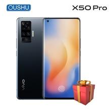 vivo X50 pro 5G 60x Super Zoom Snapdragon 765G Celular 4315mAh 33W Dash Charge N