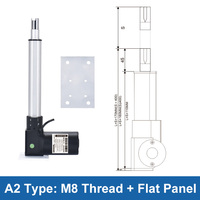Dc24v 6000n electric linear actuator 250mm 850mm 1000mm stroke ac220v telescopic rod motor controller 600kg load tv lift table
