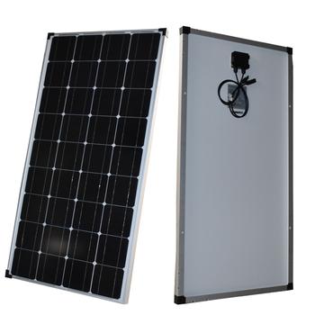 Panel słoneczny 100w 200w solidna 18V sztywna szyba panelu słonecznego Temper monokrystaliczne ogniwo 12V 24V ładowarka tanie i dobre opinie CNSDPV CN (pochodzenie) Ogniwa słoneczne 1165MM*541MM*30MM 36PCS Monocrystalline Silicon 110w SOLAR PANEL 12V MONO SOLAR CELL