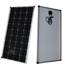 Battery-Charger Monocrystalline-Cell Solar-Panel Rigid 200w 100w 24V Temper Glass 12V