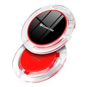 Image 2 - Für Huawei Honor 9X Drahtlose Ladegerät Telefon Zubehör Fall Für Huawei Ehre 9X Pro Qi Power Ladung Lade Pad mit empfänger