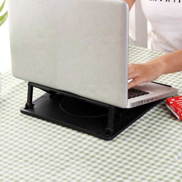 Verstelbare Bureau Draagbare Laptop Stands Tafel Notebook Desk Cooling Stand Base Beugel Kantoor Tablet Pad Warmte Reductie Mount|Laptop Stand|Auto´s & Motoren -