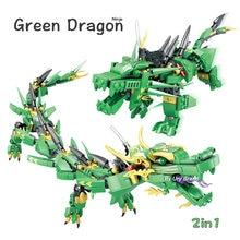 Конструктор lloyd's green dragon fighting mech серии ниндзя