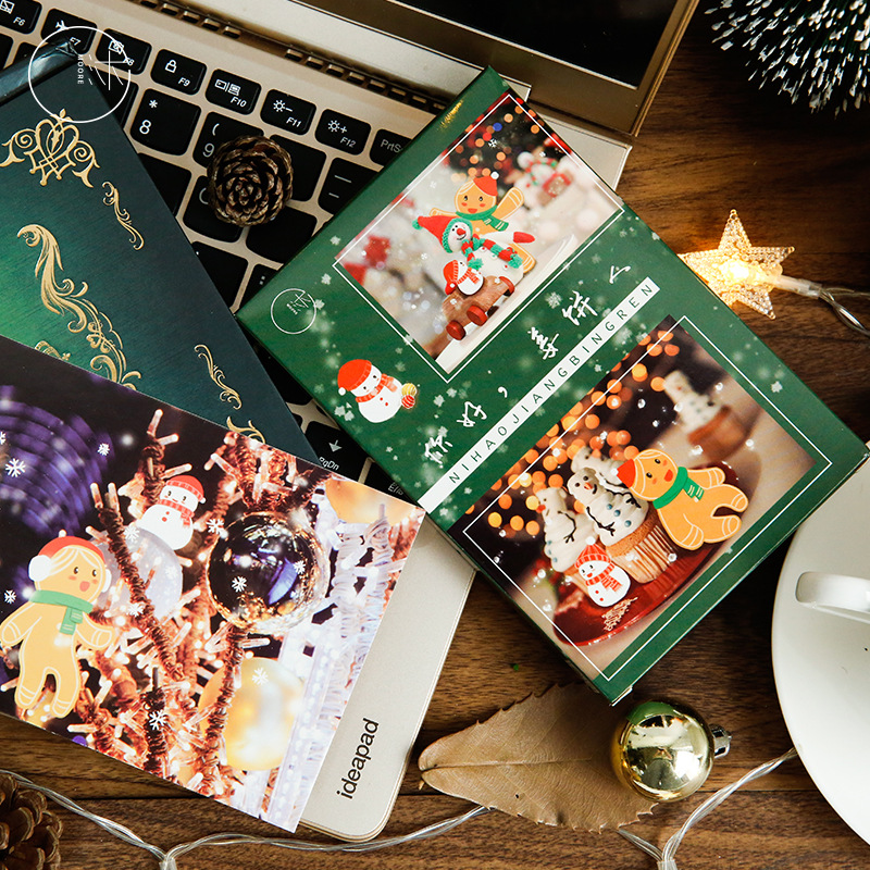 30 Sheets/Set Hello Merry Christmas Postcard /Greeting Card/Message Card/Christmas And New Year Gifts