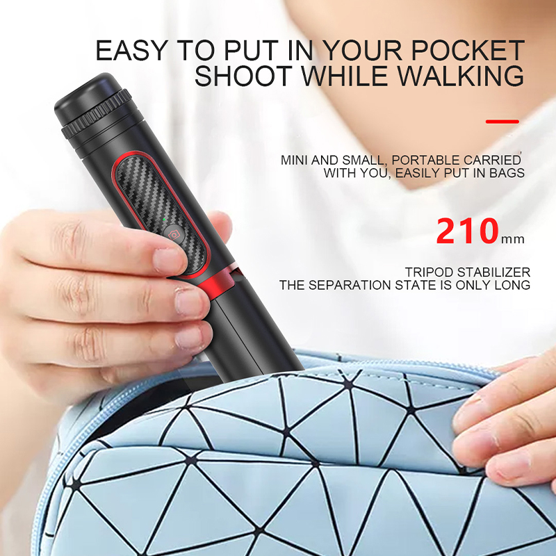 Hot DealsPhone Stabilizer Selfie Stick Video Shooting Vlog Anti-shake Stable Tripod Live Broadcast Device Camera Motion Handheld PTZ
