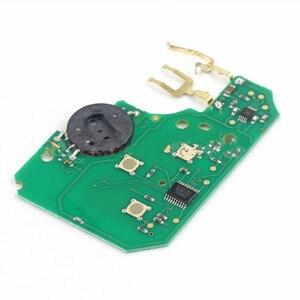 Image 4 - Wilongda araba aksesuarları 3 düğme uzaktan anahtar 433Mhz pcf7926 pcf7947 çip Renault megane 2 Scenic 2 kart araba anahtar